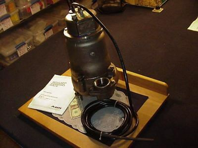 ABS Stainless Steel Scavenger Pump SS10D 1 HP 3 Phase 230V 60Hz 20.7 GPM NEW!