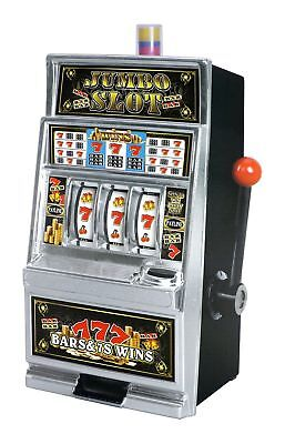 Jumbo Slot Machine Bank Replica