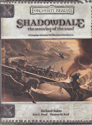 Dungeons & Dragons: Forgotten Realms - Shadowdale: The Scouring of the Land