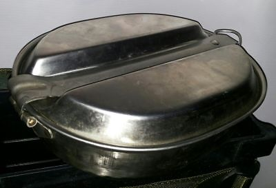 Army Mess Tin Set Stainless Steel Kit Cook Set Cooking Camping Military