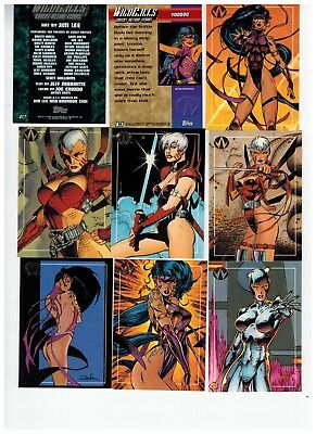 1993 Wildc.a.t.s Covert Action Teams 100 Card Set 2018 Sale Wildcats