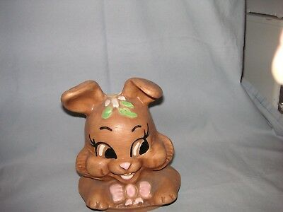 bunny cookie jar, lid only