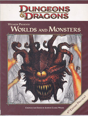 Dungeons & Dragons: Wizards Presents Worlds and Monsters. 4th Edition Preview
