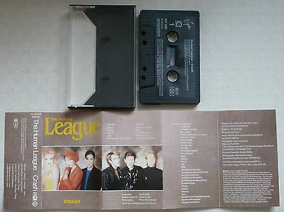 The Human League – Crash – MC cassette – Germany