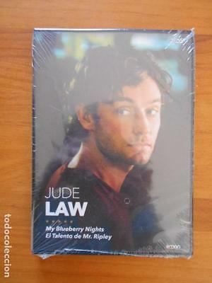 Dvd Jude Law - My Blueberry Nights / El Talento De Mr. Ripley - Nueva (F7)