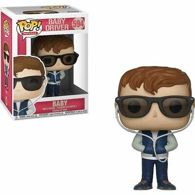 Funko - POP! Movies - Baby Driver - Baby Brand New In Box
