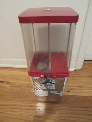 25 cent small gumball  candy machine  with lock and key free shipping