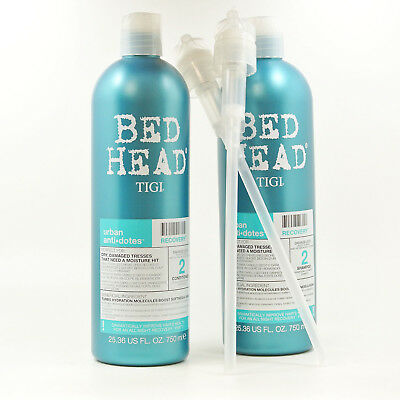 TIGI Bed Head Urban Anti dotes Recovery Shampoo and Conditioner Duo With Pump