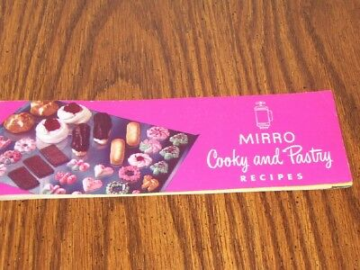 VINTAGE 1950s Mirro Cooky Pastry Press Recipe Instruction Booklet Cookie Manual