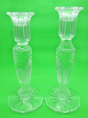 Waterford Crystal Set of 2 Prentiss Candle Holders, Clearance Price