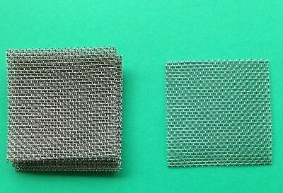 12 pads 6cm x 6cm Beekeeper Wire Mesh 316 Stainless Steel -