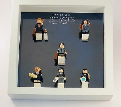 Minifigures Display Case Frame Lego Fantastic Beasts Harry Potter CMF minifigs