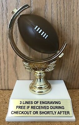 "5.75"" Football Trophy - Easy Assembly Required"