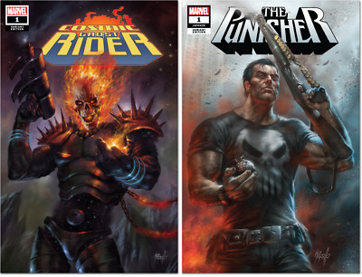 Punisher #1 & Cosmic Ghost Rider #1 Cvr A 2 Pack Parrillo 8/22/2018