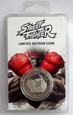 Collector Street Fighter RYU collector's pièce LIMITED EDITION COIN n° 0402