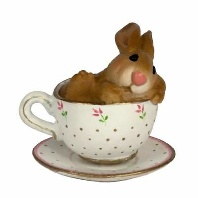 Wee Forest Folk - Cuppa Cottontail B-28