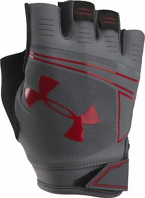 Under Armour Coolswitch Flux Mens Training Gloves - Grey