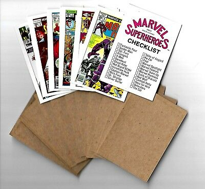 PROOF SET - 1984 FTCC  MARVEL SUPERHEROES 60 cards -  ULTRA RARE!