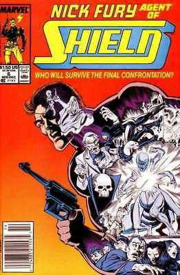 Nick Fury: Agent of SHIELD (1989 series) #6 in NM minus condition. Marvel comics