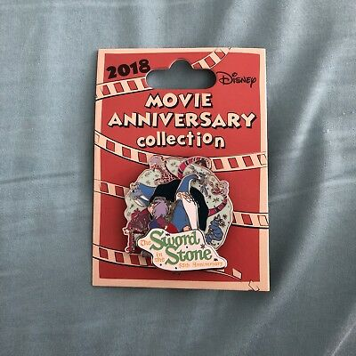 Disney Cast Movie Anniversary The Sword In The Stone 55Th Anniv Le 750 Pin
