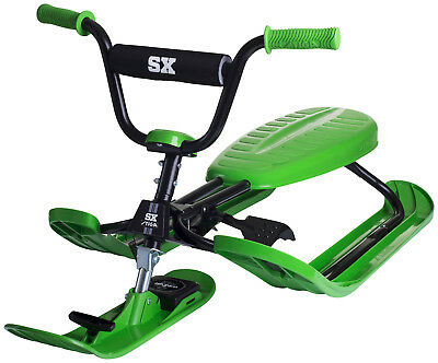 Stiga Snow Racer Sled - SX-Pro GREEN, NEW RELEASE from SWEDEN