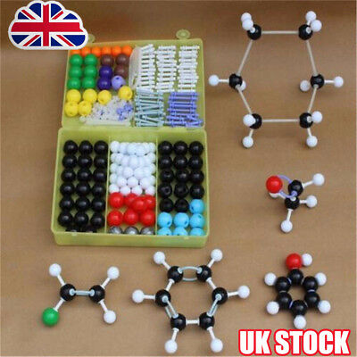 267pcs Molecular Model Set Links Kit - General And Organic Chemistry Science Y8