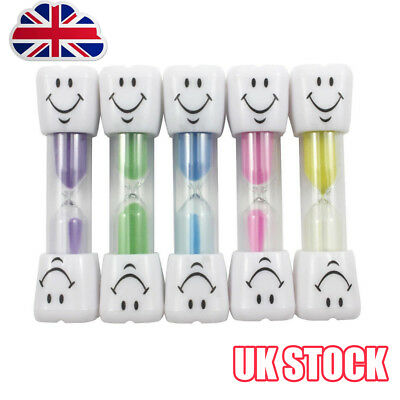 3 Minute Hourglass Kids Toothbrush Timer Smiley Sand Egg Timer 3 Minute Timer Y8