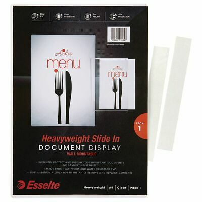Esselte A4 Slide In Document Display