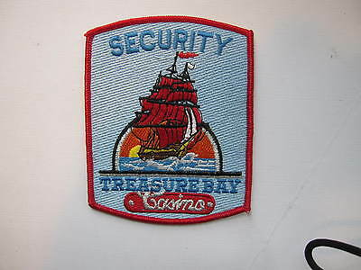 RARE  Treasure Bay Casino Security  Biloxi, Mississippi   sailing ship-red sails