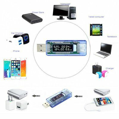 Mini Battery Capacity Tester USB Charger Voltage Meter Phone Safety Power Tester