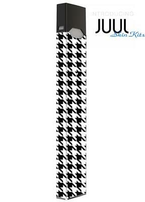 SKIN DECAL WRAP for JUUL Protective Vinyl Cover Sticker Kit Black & White
