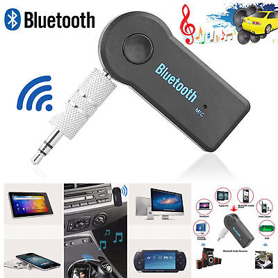 3.5mm Wireless USB Bluetooth 4 Receiver For Aux Stereo Audio Music Car Adapter