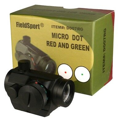 HOT! US Seller!!  4MOA Red Green Dot Reflex Sight Low Profile Micro 20MM Mount