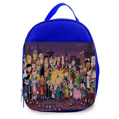hey Arnold 4 Kids lunch Bag / Personalized Kids Bag