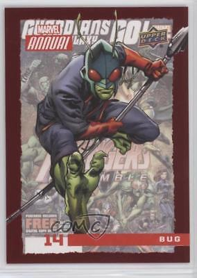 2016 Upper Deck Marvel Annual Red #14 Bug Non-Sports Card 2k4