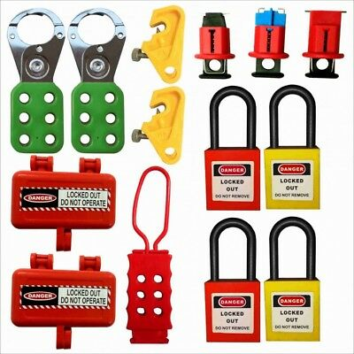 Electrical lockout products Pin IN/OUT/OUT Wide MCB Lockout Plug Lock Tags