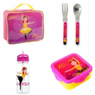 NEW The Wiggles Emma Ballerina Lunch Set - Lunch Bag, Box, Drink Bottle, Cutlery
