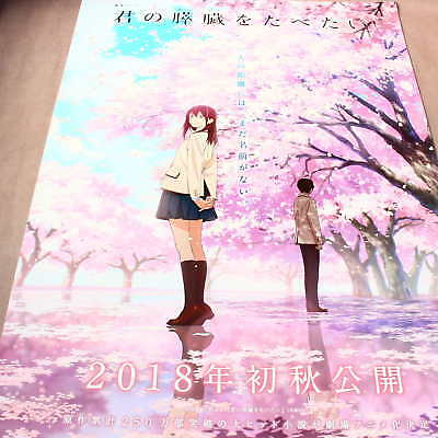 Let Me Eat Your Pancreas Japan Anime Large 2018 Poster NEW