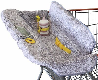 Shopping Cart Cover for Baby or Toddler | 2-in-1 High Chair Cover | Compact U...