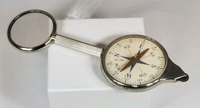 Vintage Compass ~ Map Reader ~ Magnifying Glass ~ Made in Germany