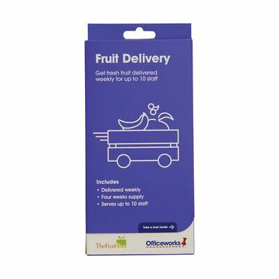 Fruit Delivery For Up To 10 Staff