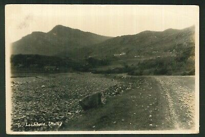 Postcard -  Lochbuie, Mull - Real Photo 1929