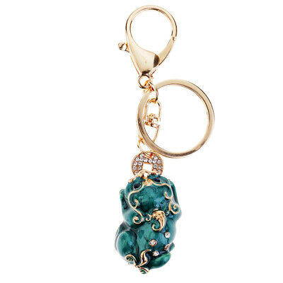 Collectables 2pcs Handmade Pi Xiu Lucky Keychains to Bring Wealth