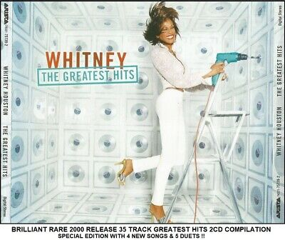 Whitney Houston - Very Best Greatest Hits Collection RARE 2002 2CD 80's 90's Pop
