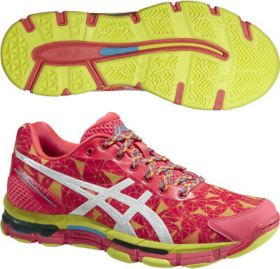 Asics Gel Netburner Professional 11 Ladies Netball Shoes - Pink