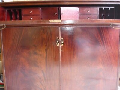 Antique Reproduction Secretaire - Mahogany