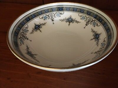 Minton GRASMERE Blue & Gold Floral Bone China 5-inch Dessert Bowl ~ 8 Available