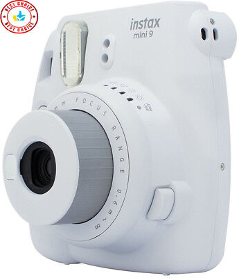 Fujifilm Instax Mini 9 Camera White Brand New - Free Shipping