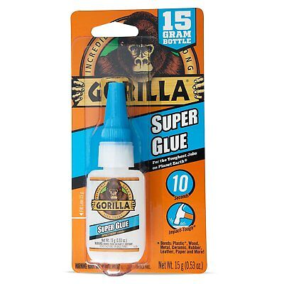 Gorilla™ Super Glue, 0.53 Oz Bottle