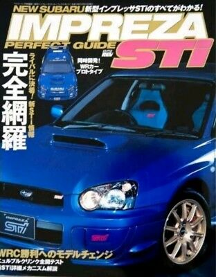 Subaru Impreza WRX STI Perfect Guide Book Hyper Rev